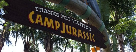 Jurassic Park is one of Must Ride Roller Coasters.