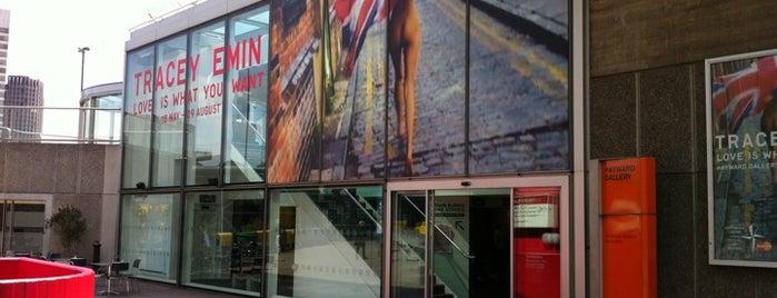 Hayward Gallery is one of More London.