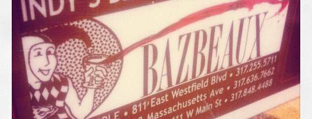 Bazbeaux Pizza is one of Naptown Dining.