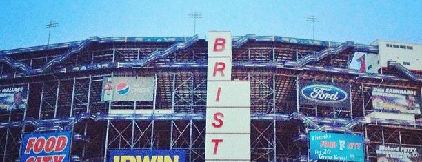 Bristol Motor Speedway is one of My NASCAR Cup Series Trip List.