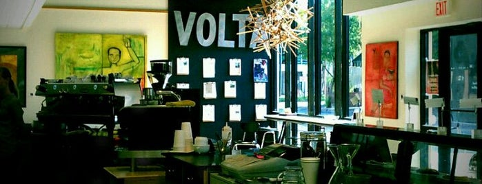 Volta Coffee, Tea & Chocolate is one of Favorite Food.