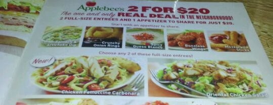Applebee's Grill + Bar is one of Dining in the Shoals.