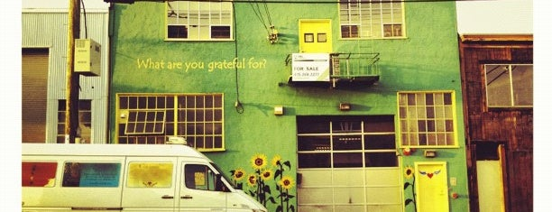 Cafe Gratitude is one of San Francisco Eats.