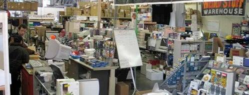 Weird Stuff Warehouse is one of Best Retrogaming Shops.