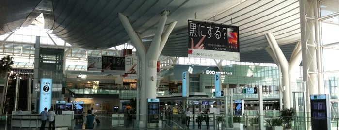 International Terminal is one of World Airports.