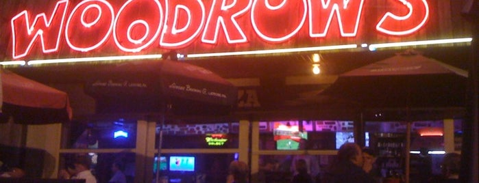 Little Woodrow's is one of College Nightlife Houston.