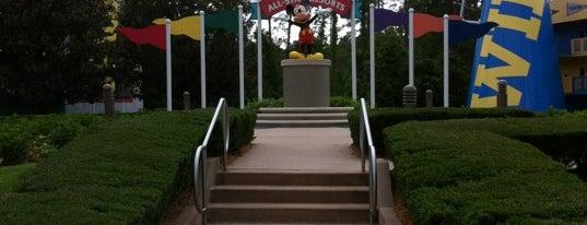 Disney's All-Star Sports Resort is one of Walt Disney World Resorts.