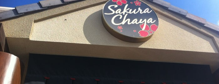 Sakura Chaya is one of Food in Fresno-Clovis, California.