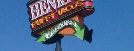 Henry's Puffy Tacos & Cantina is one of The 15 Best Places for Tacos in San Antonio.