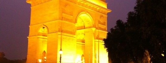 India Gate is one of Top 10 favorites places in New Delhi, India.