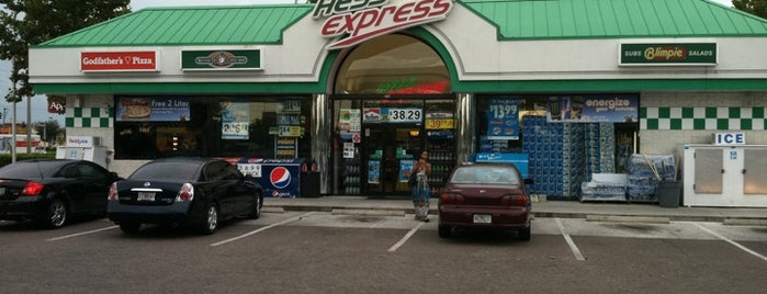Hess Express is one of daily.