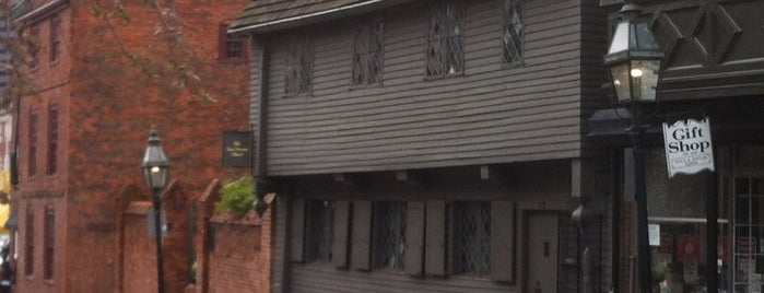 Paul Revere House is one of Partners in Preservation-Boston.