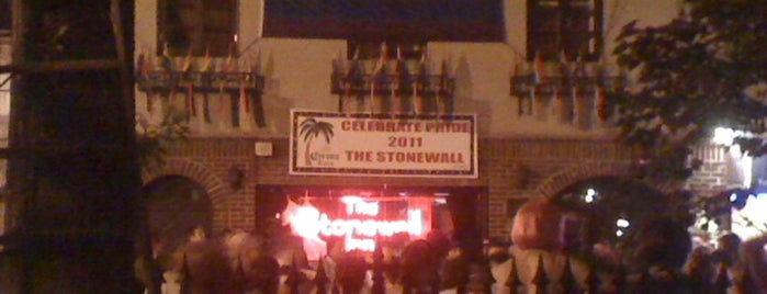 Stonewall Inn is one of Gay bars - NYC.