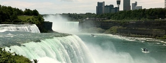 Niagara Falls State Park is one of Stunning Views Around the World by Nokia.