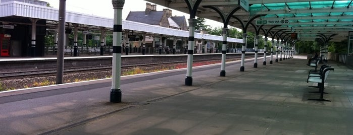 Durham Railway Station (DHM) is one of Railway Stations in UK.