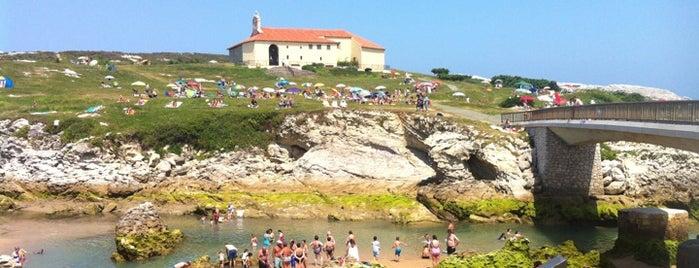 Playa Virgen del Mar is one of Guía de Cantabria.