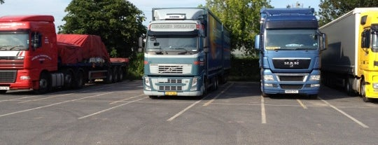 York Lorry Park is one of Truckstops And Other Places To Park Overnight.