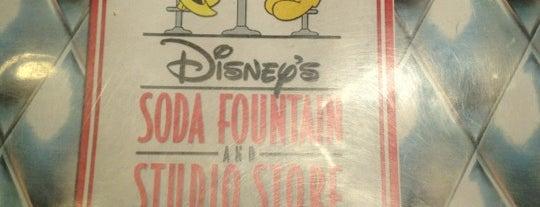 Disney's Soda Fountain & Studio Store is one of Cali + Vegas trip 2012.