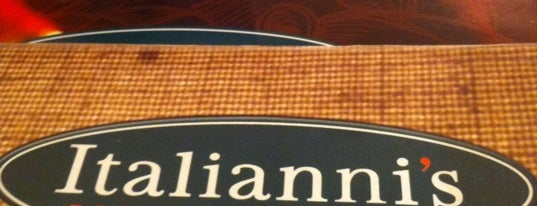 Italianni's is one of 20 favorite restaurants.