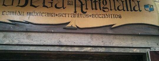 """Bodega La Antigualla is one of """"Restaurantes"""" para probar o repetir."""