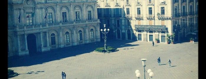 Piazza Università is one of Catania.