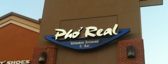 Pho Real Vietnamese Restaurant is one of Restaurants.