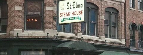 St. Elmo Steak House is one of The Best Places in Indianapolis - #VisitUs.