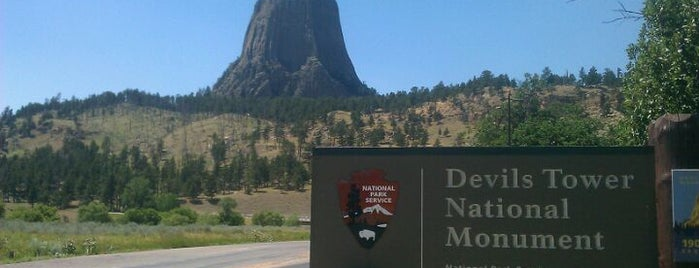 Devils Tower National Monument is one of FUN.