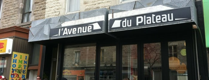 Restaurant L'Avenue is one of Mes plans A.