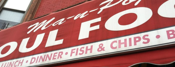 Ma-n-Pop Soul Food is one of Brooklyn Brunch.