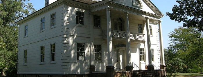 Morris Jumel Mansion is one of NYC's Presidential Haunts.