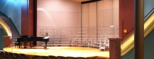 Sheslow Auditorium is one of Drake University.