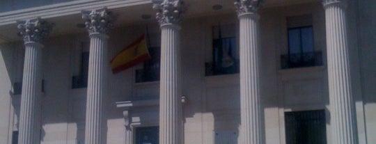 Banco de España is one of Qué visitar en Málaga.