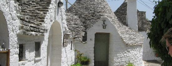 Alberobello is one of 36 hours in... Puglia.