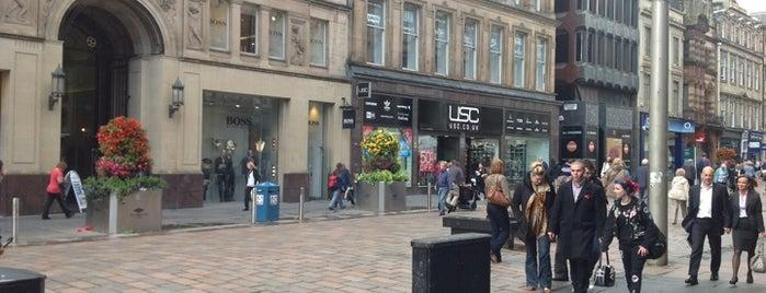 Buchanan Street is one of Essential Glasgow visits.