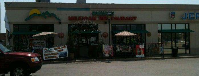 Monterrey Mexican Resturant is one of Restaurant.