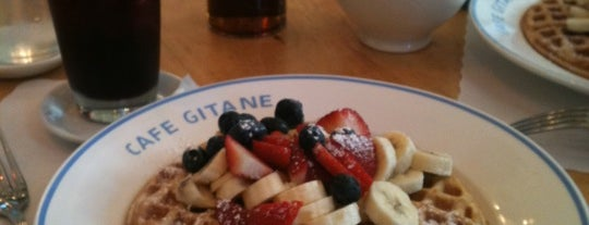 Cafe Gitane at The Jane Hotel is one of NYC Brunch list.