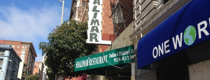 Shalimar is one of SF to do.