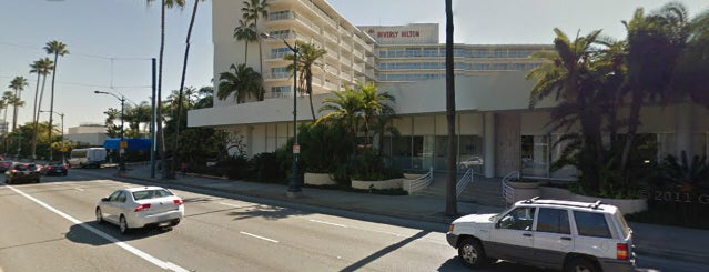 The Beverly Hilton is one of Dead Rock Star Tour.