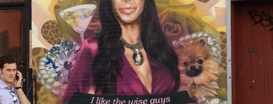 Big Ang Mural is one of I <3 NYC.