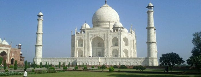 Taj Mahal is one of Bucket List.