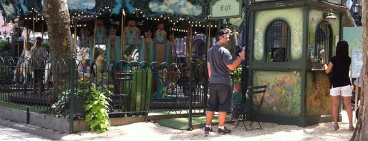 Le Carrousel in Bryant Park is one of Park Highlights of NYC.