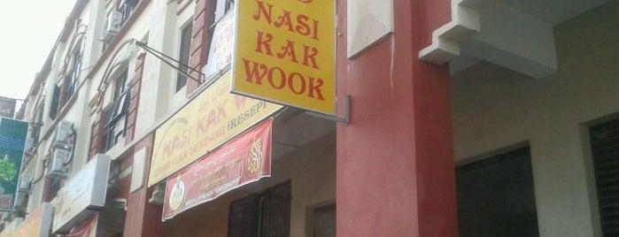 Nasi Kak Wook is one of must visit places in kelantan.
