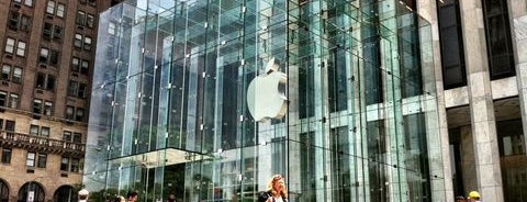 Apple Fifth Avenue is one of If You're A Tourist in NYC....