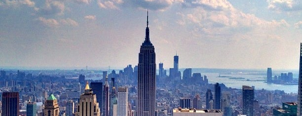 Top of the Rock Observation Deck is one of New York for the 1st time !.