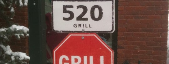 520 Grill is one of Aspen Food.