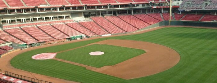 Great American Ball Park is one of #VisitUS #VisitCincinnati.