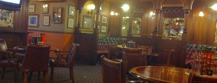 J.Bull Pub is one of Free wi-fi places in Kiev..