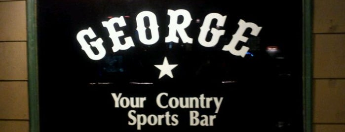 George Country Sports Bar is one of Houston's Best Sports Bars - 2012.