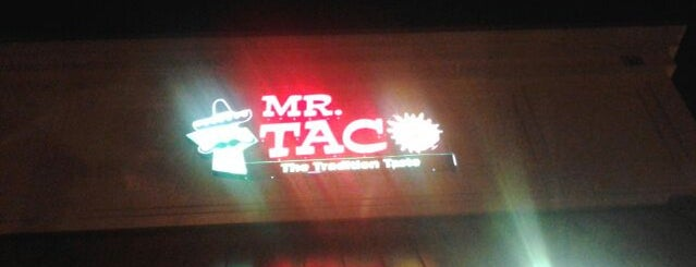 Mr. Taco is one of late night eats.